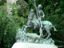 Alkotók: Kolozsvári Márton, Kolozsvári György / Első felállítás éve: 1373 / Budapest, Magyarország / Szabó Ilonka u. (I. kerület)